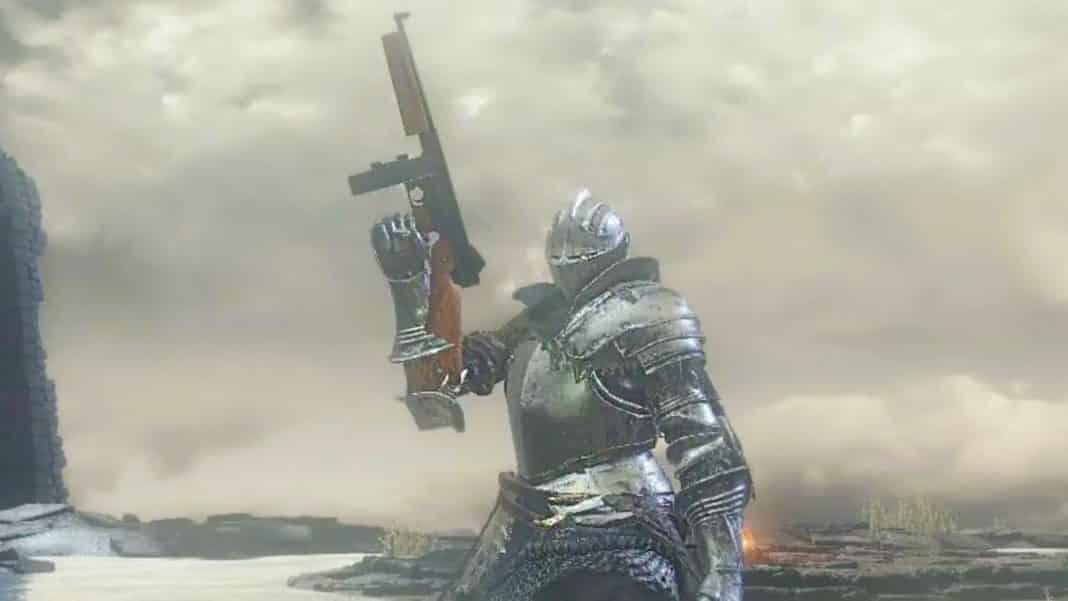 Dark Souls strelné zbrane