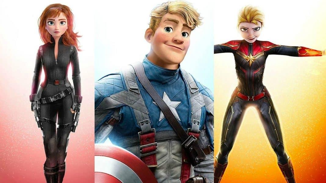 postavy z Disney rozprávok