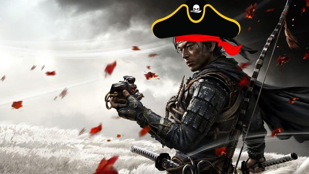 Ghost of Tsushima pirátska hra