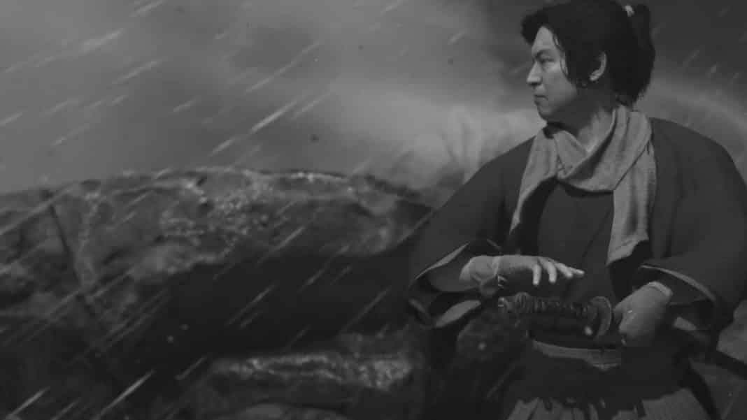 Ghost of Tsushima režim Kurosawa