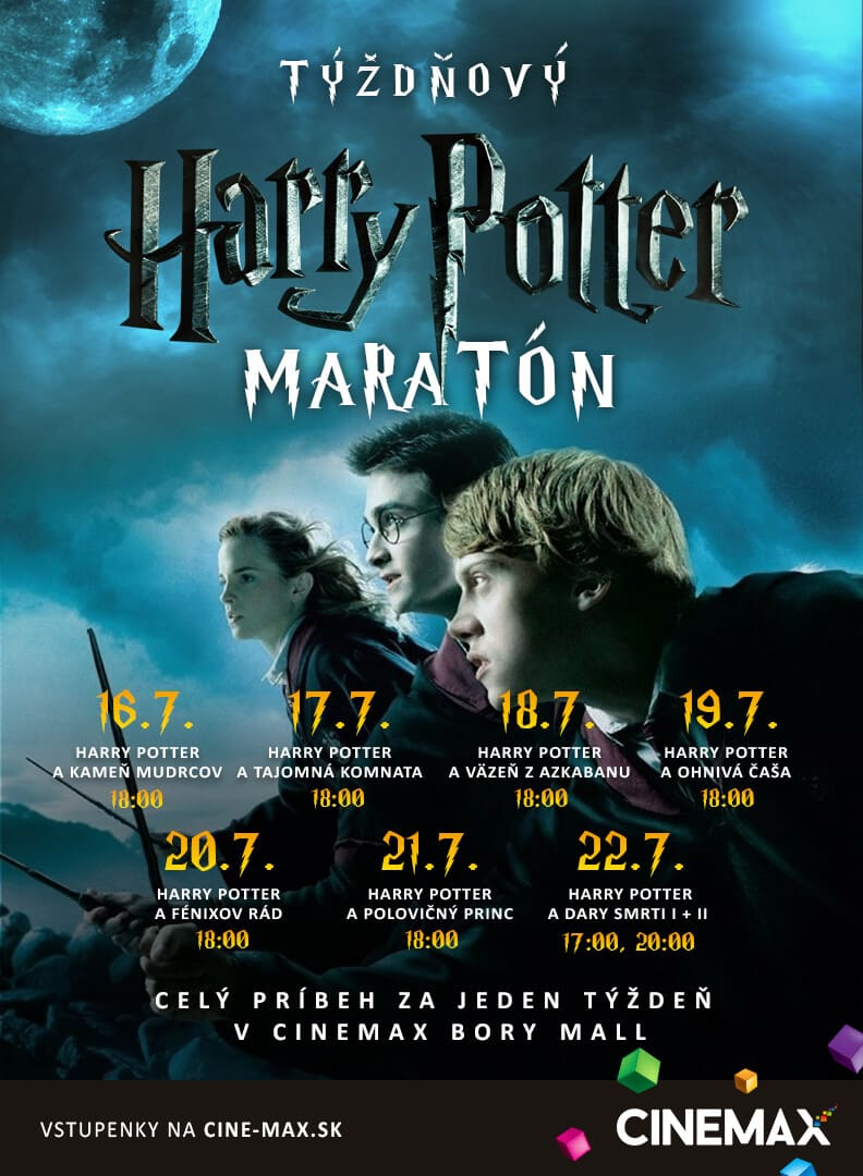 harry potter maraton