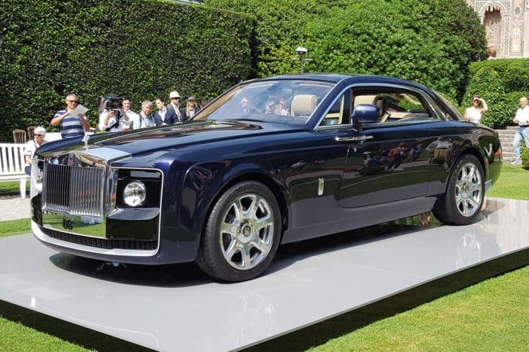 najdrahšie autá; Rolls-Royce Sweptail