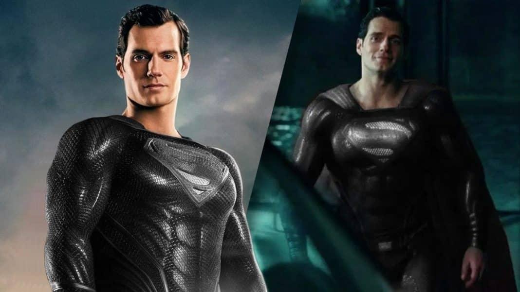 superman v čiernom obleku