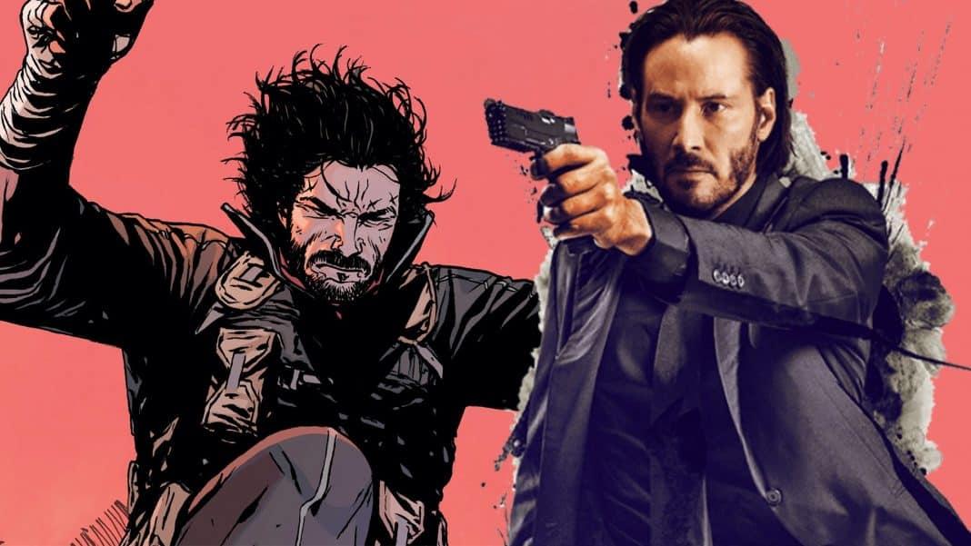 Keanu Reeves komiks