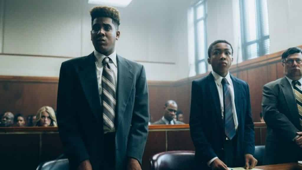 miniseriály na Netflixe - When They See Us