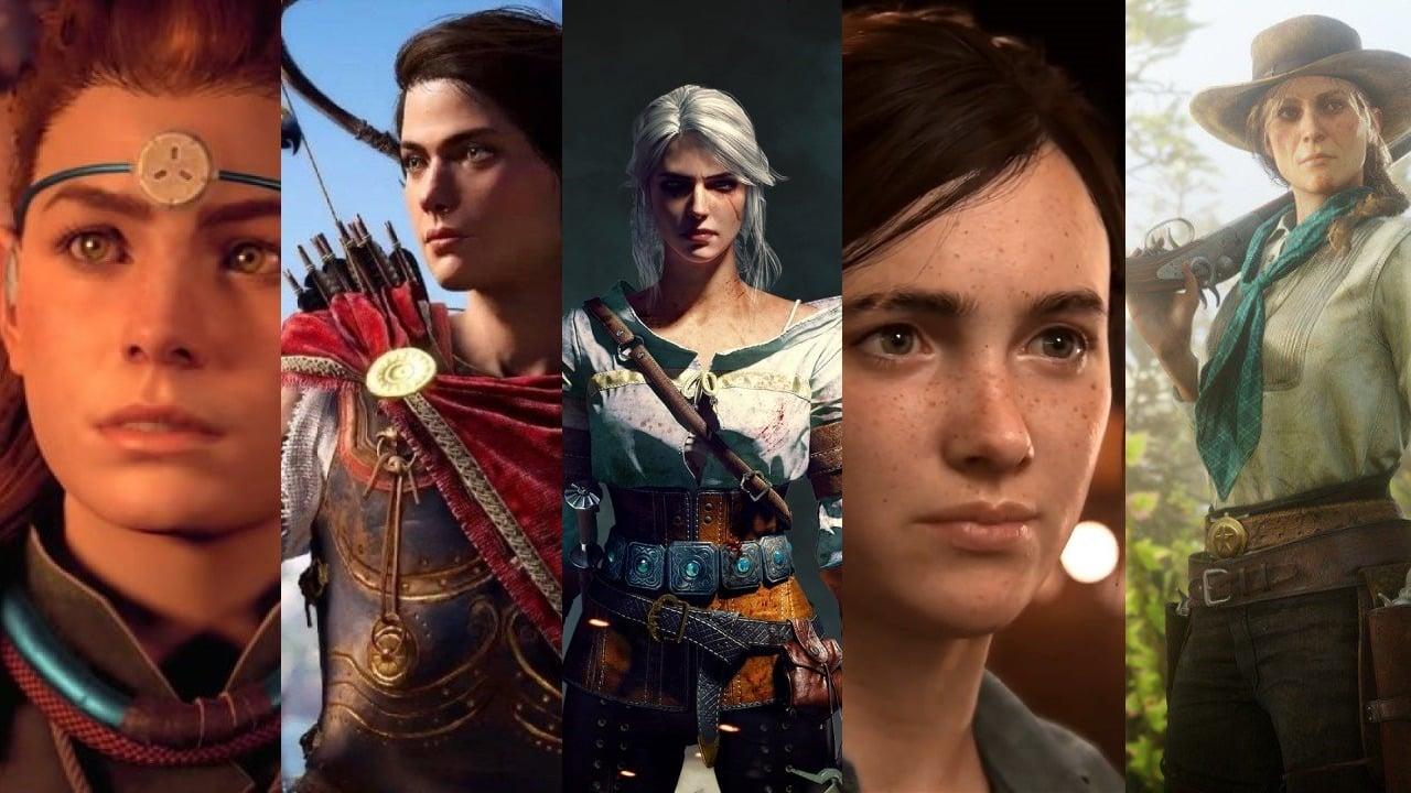 Vývoj ženských postáv v hrách