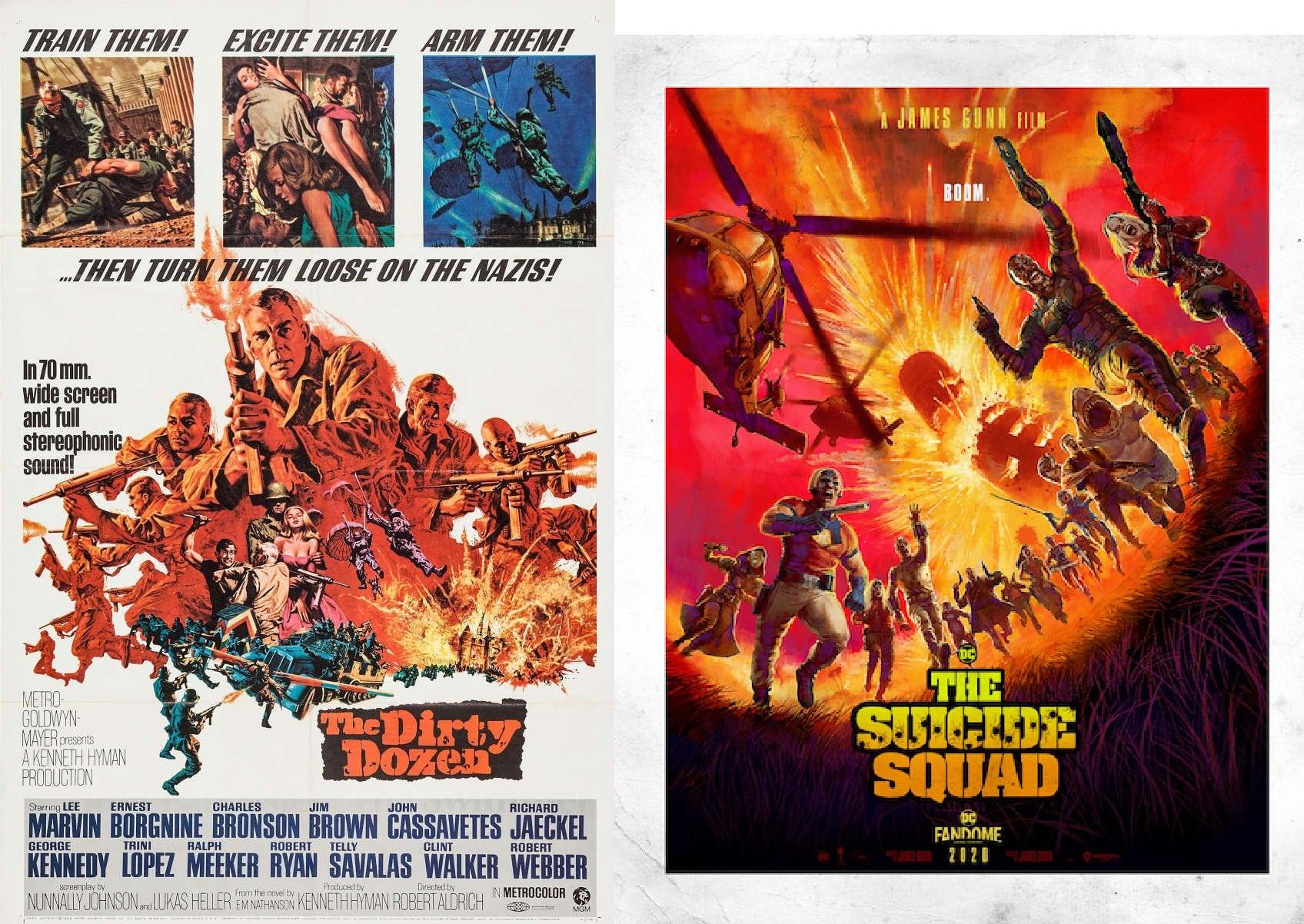 suicide squad dirty dozen poster