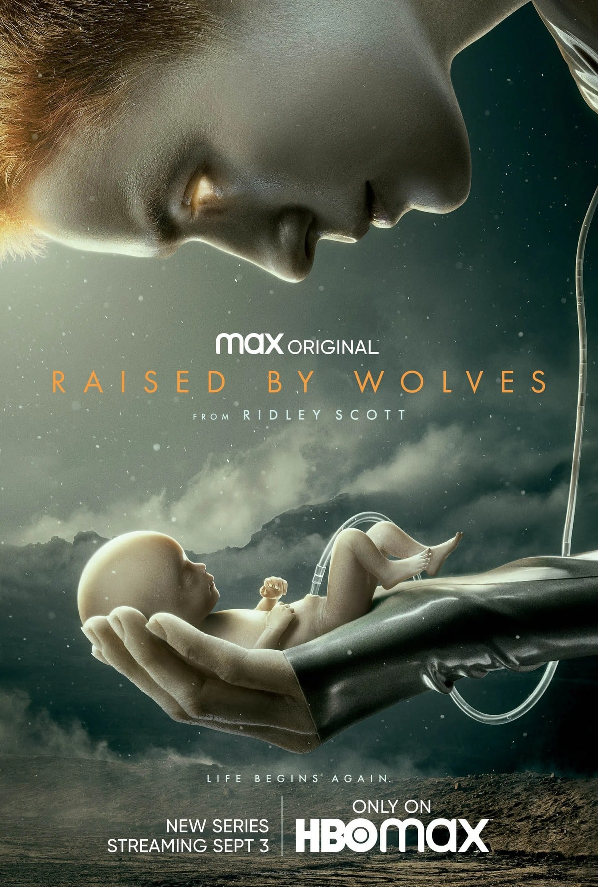 raised by wolvers poster