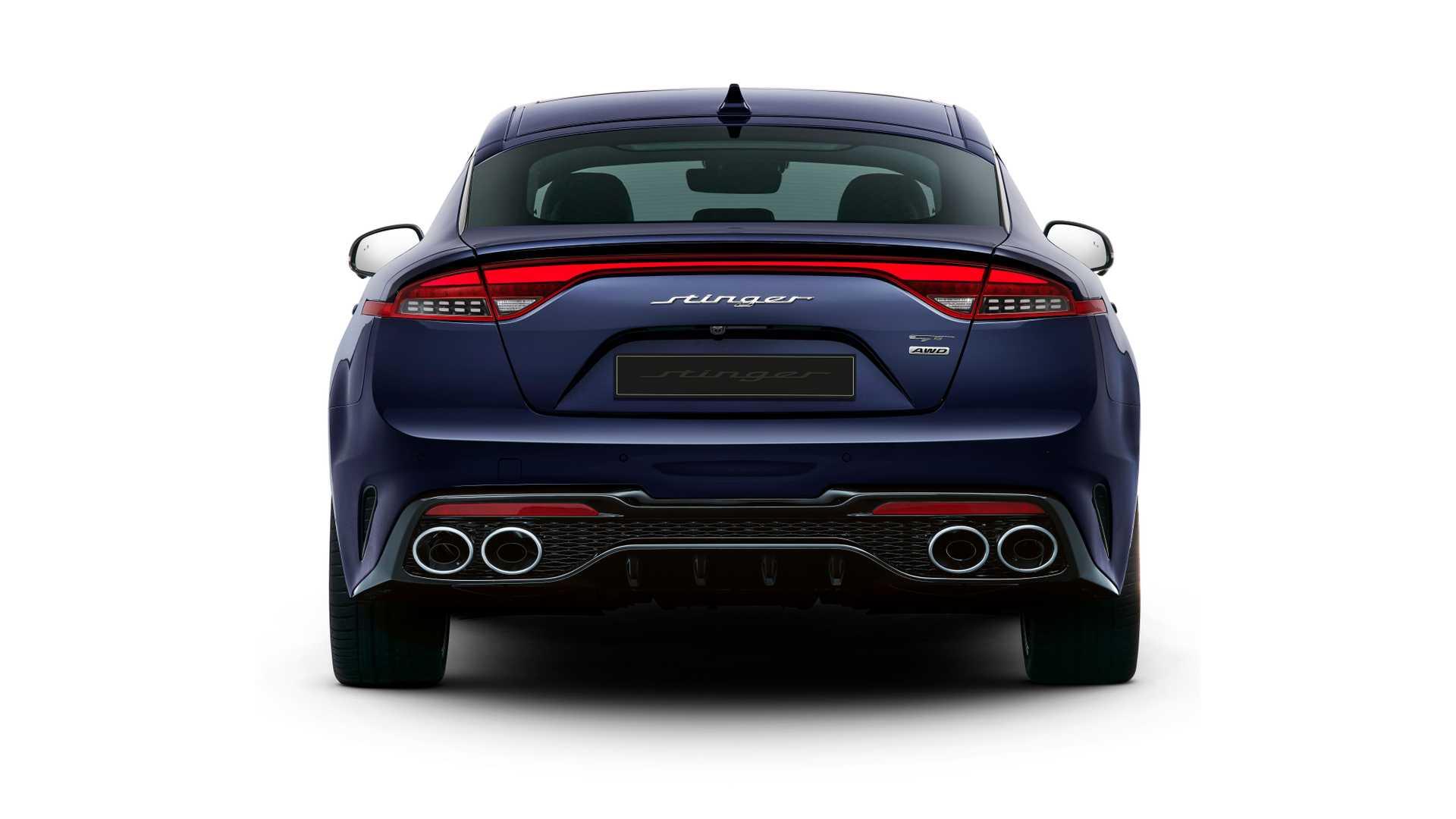 2021 Kia Stinger facelift