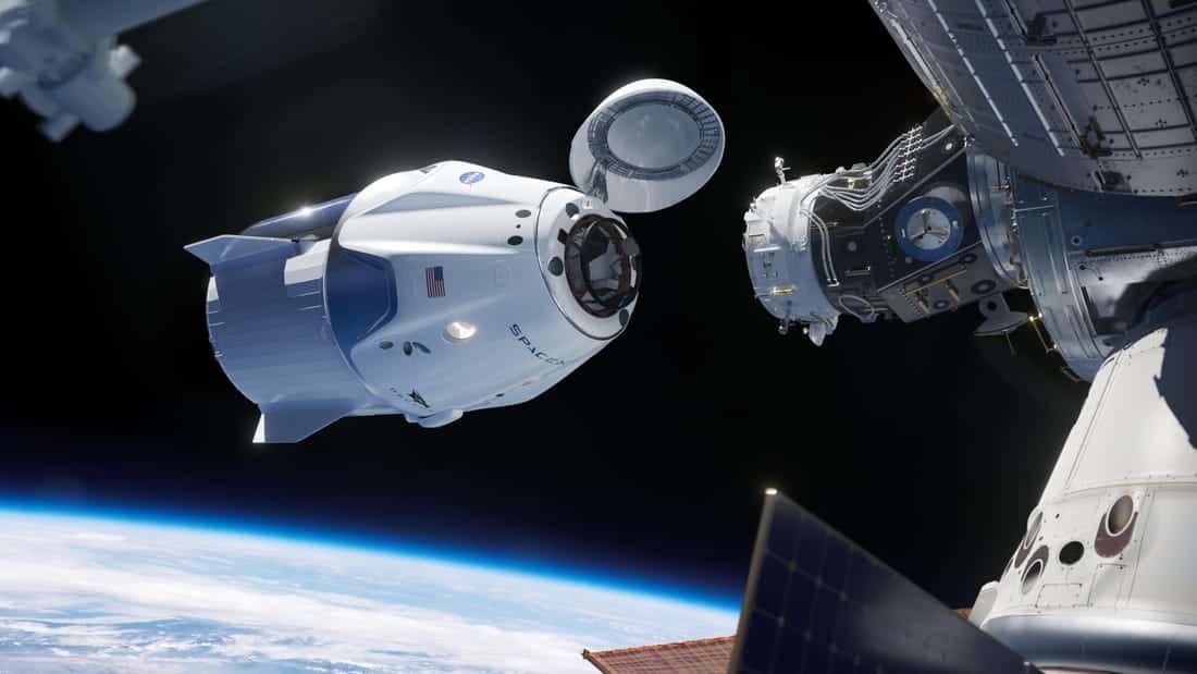 Space X Crew Dragon NASA