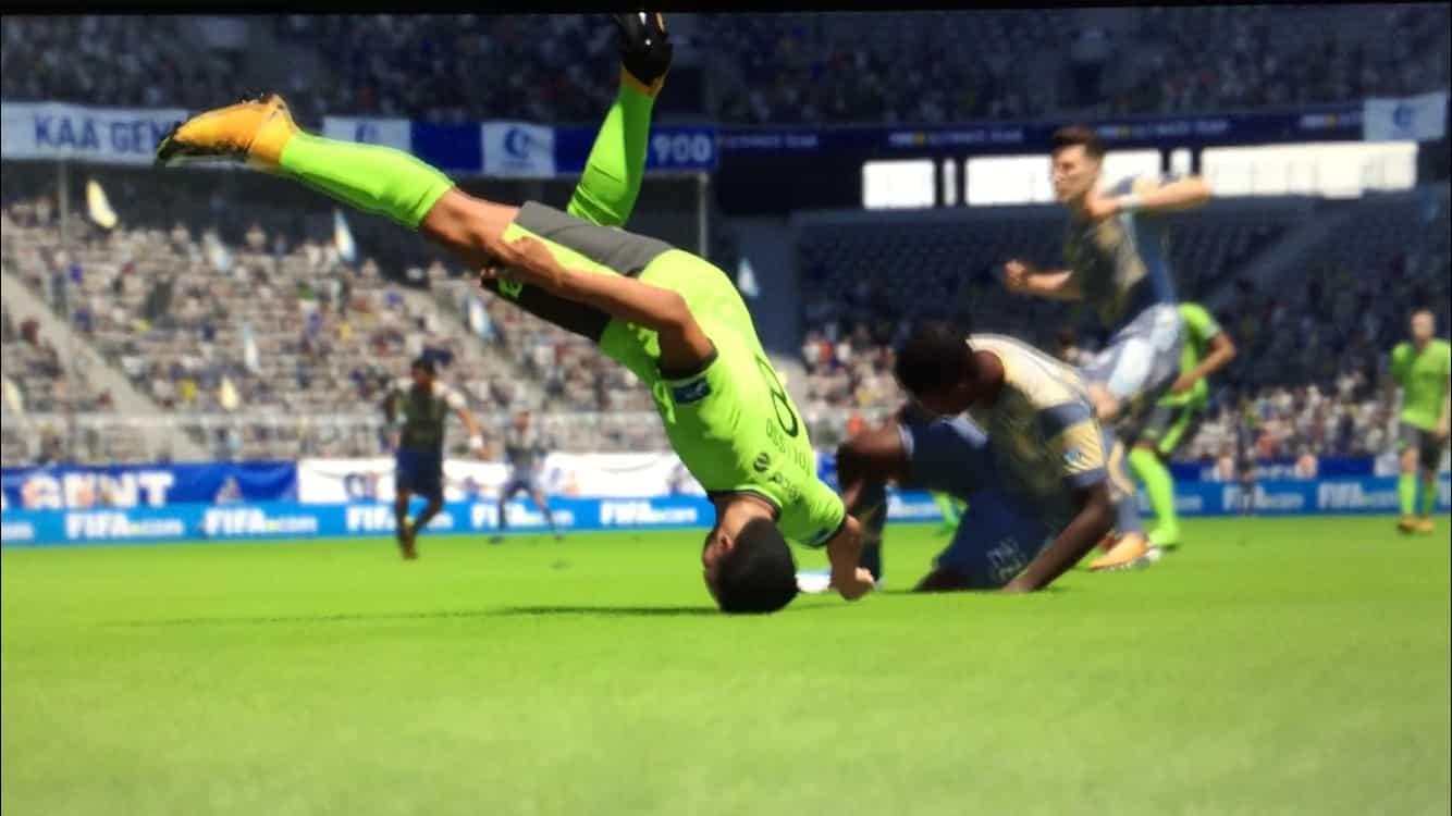 FIFA kolízie