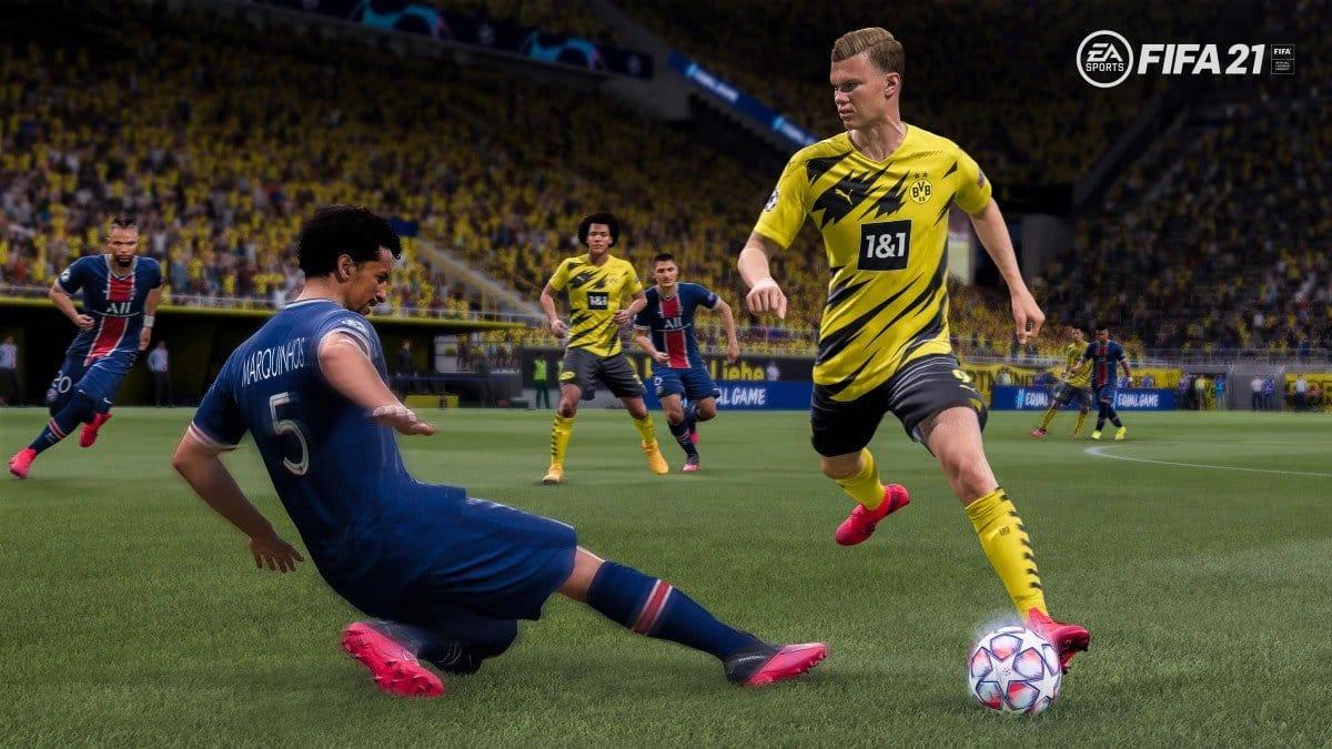 FIFA 21 dribling
