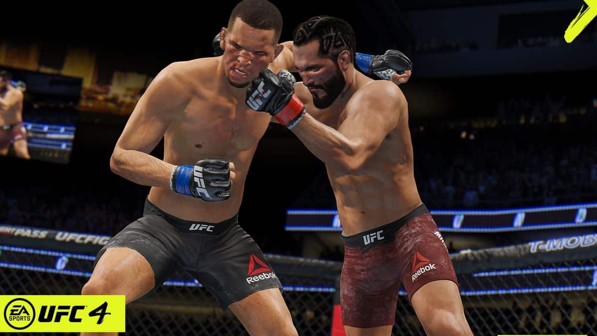 hrateľnosť UFC 4
