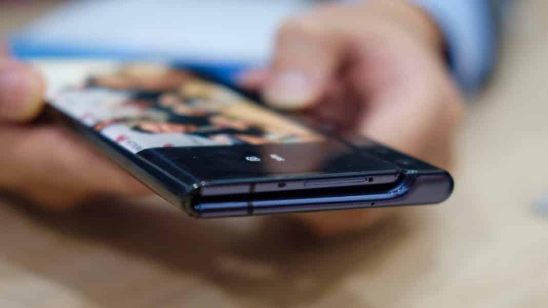 Huawei skladací smartfón