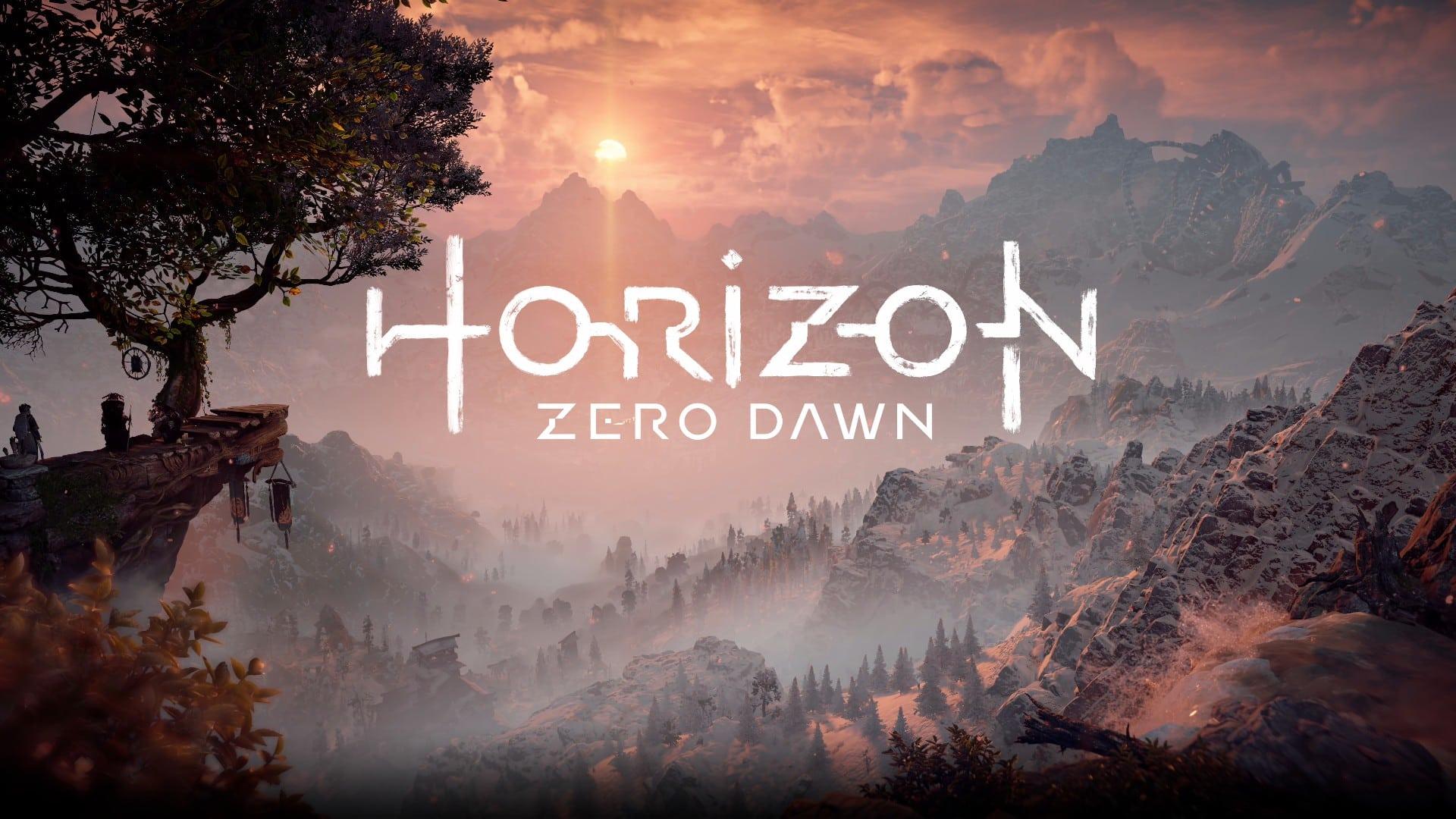Horizon Zero Dawn intro
