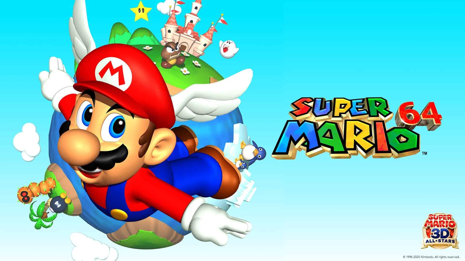 Ohlásenie Super Mario 3D All-Stars 1