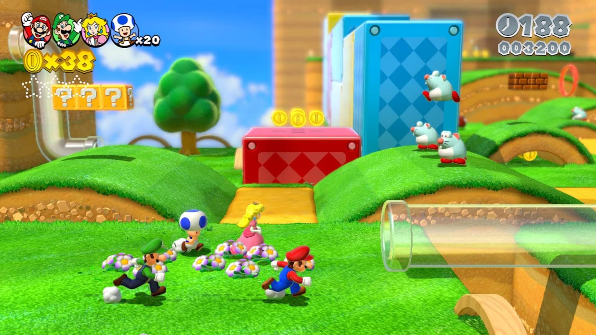 Super Mario 3D World dátum vydania