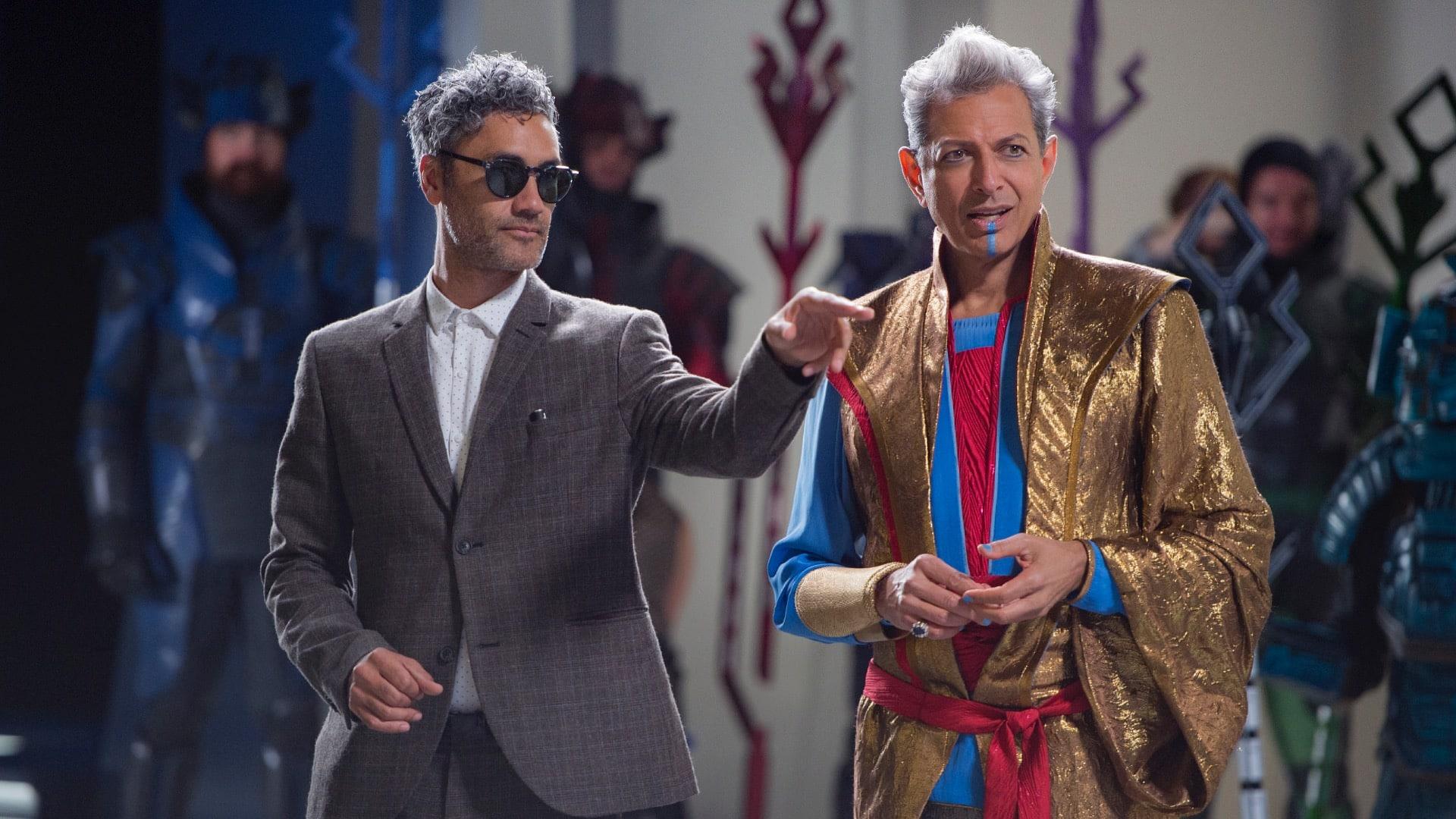 Taika Waititi a Jeff Goldblum