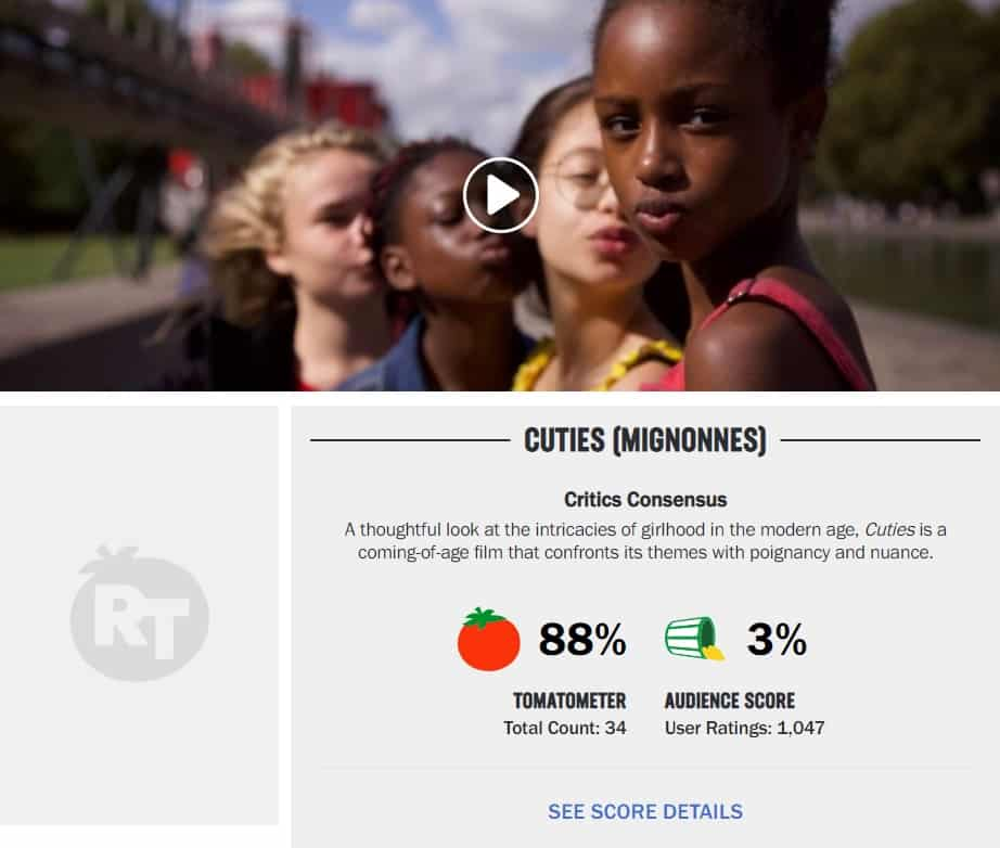 cuties rotten tomatoes