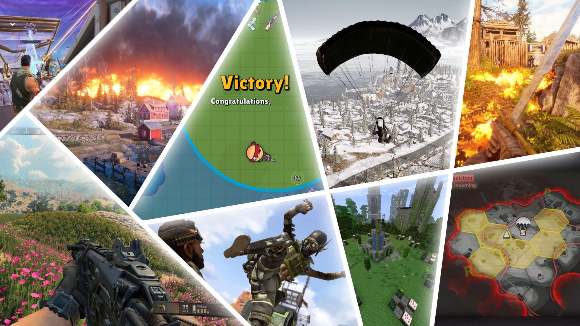 Battle Royale hry
