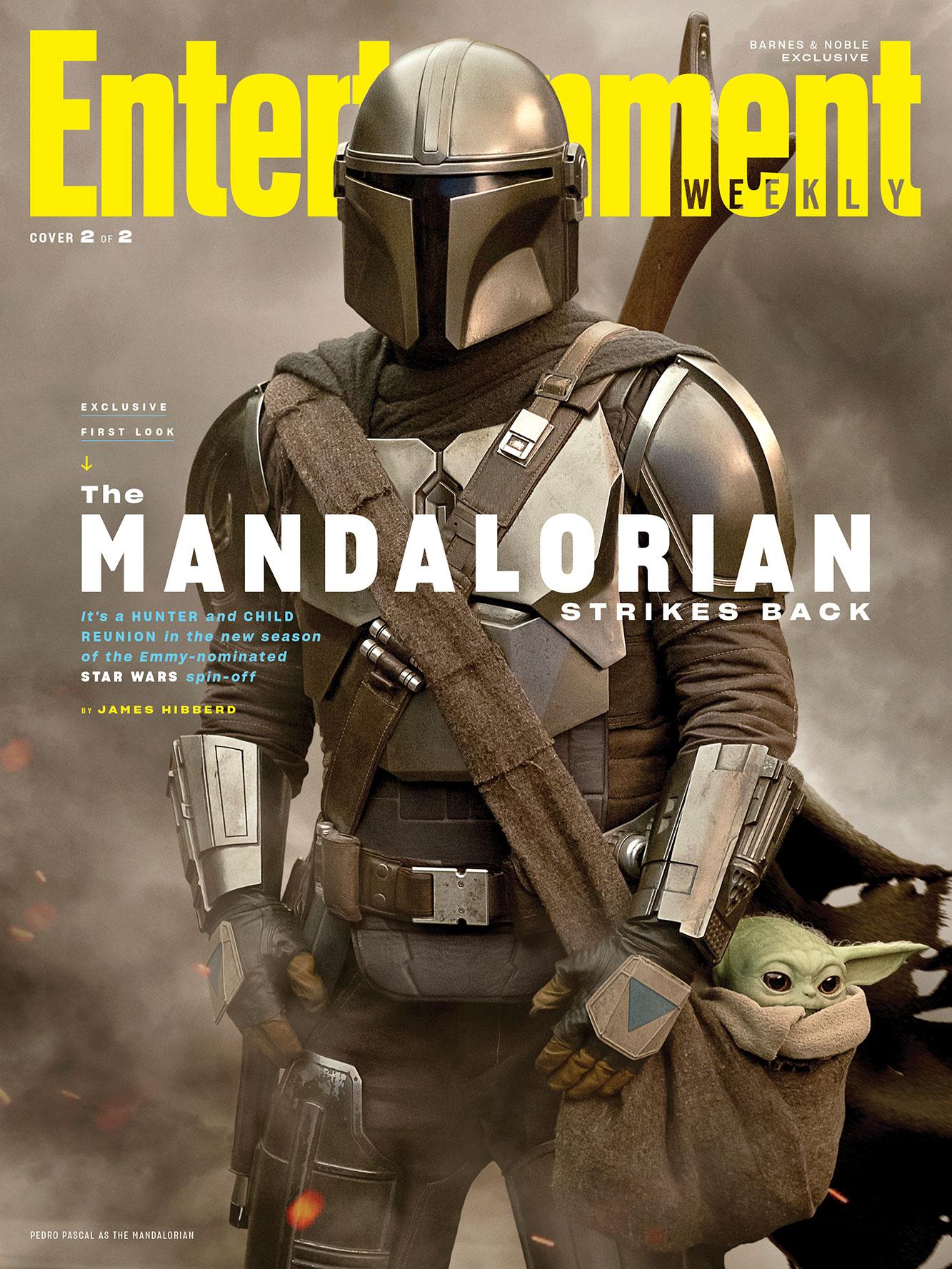 The Mandalorian nové fotky obálka časopisu