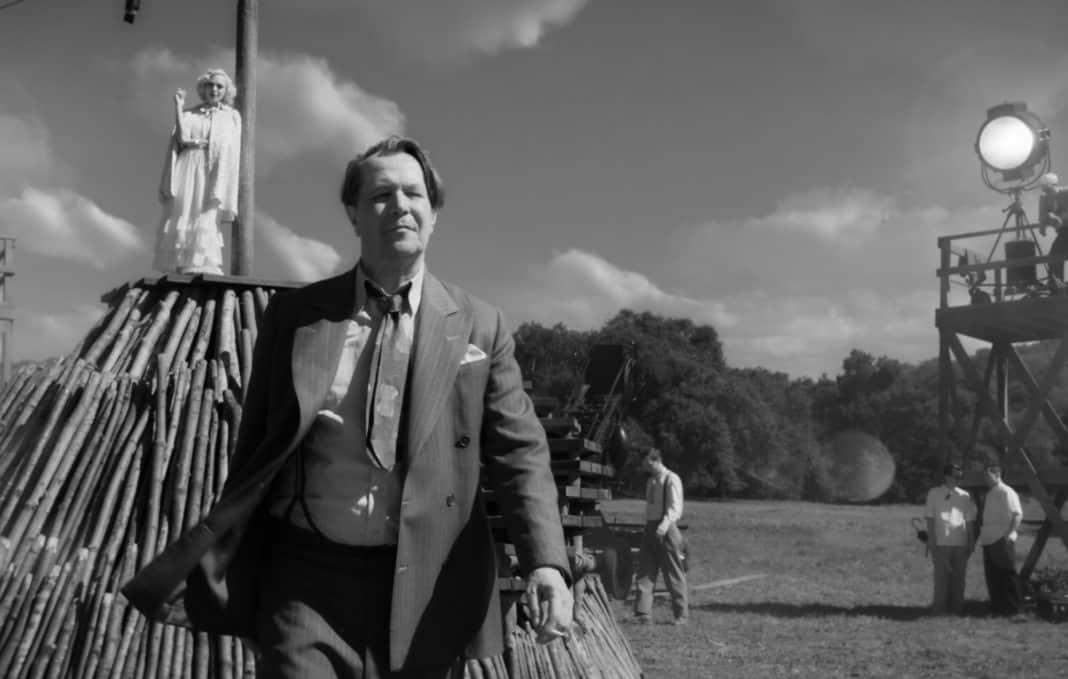 zábery z filmu Mank