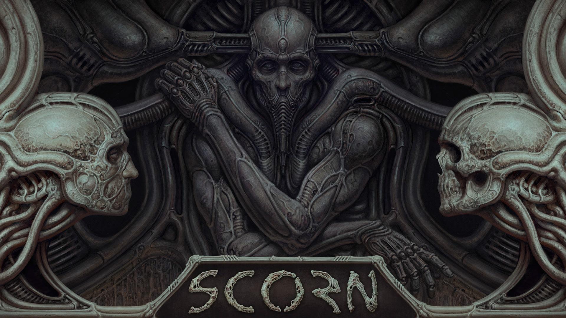 Scorn gameplay video new