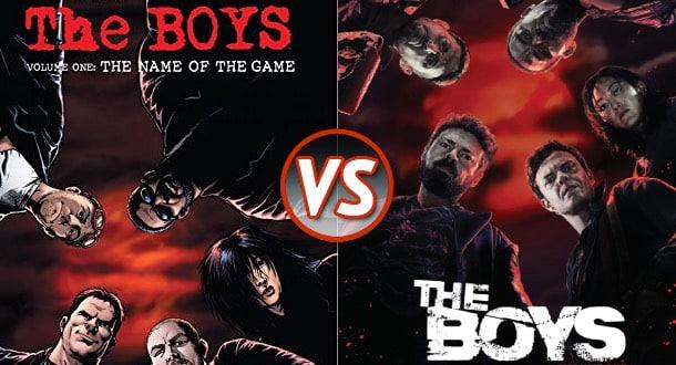 the boys komiks vs serial