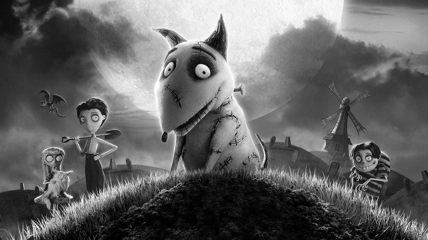 animované filmy Halloween - frankenweenie