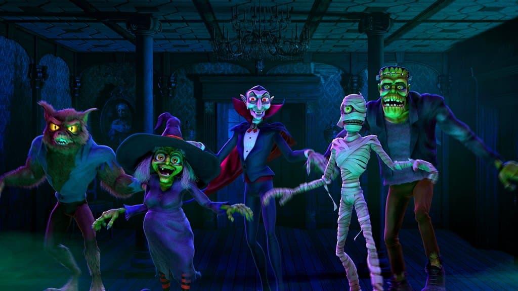 halloweenske príšery
