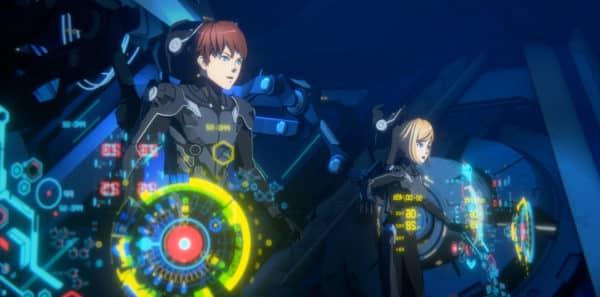 Pacific Rim: The Black anime