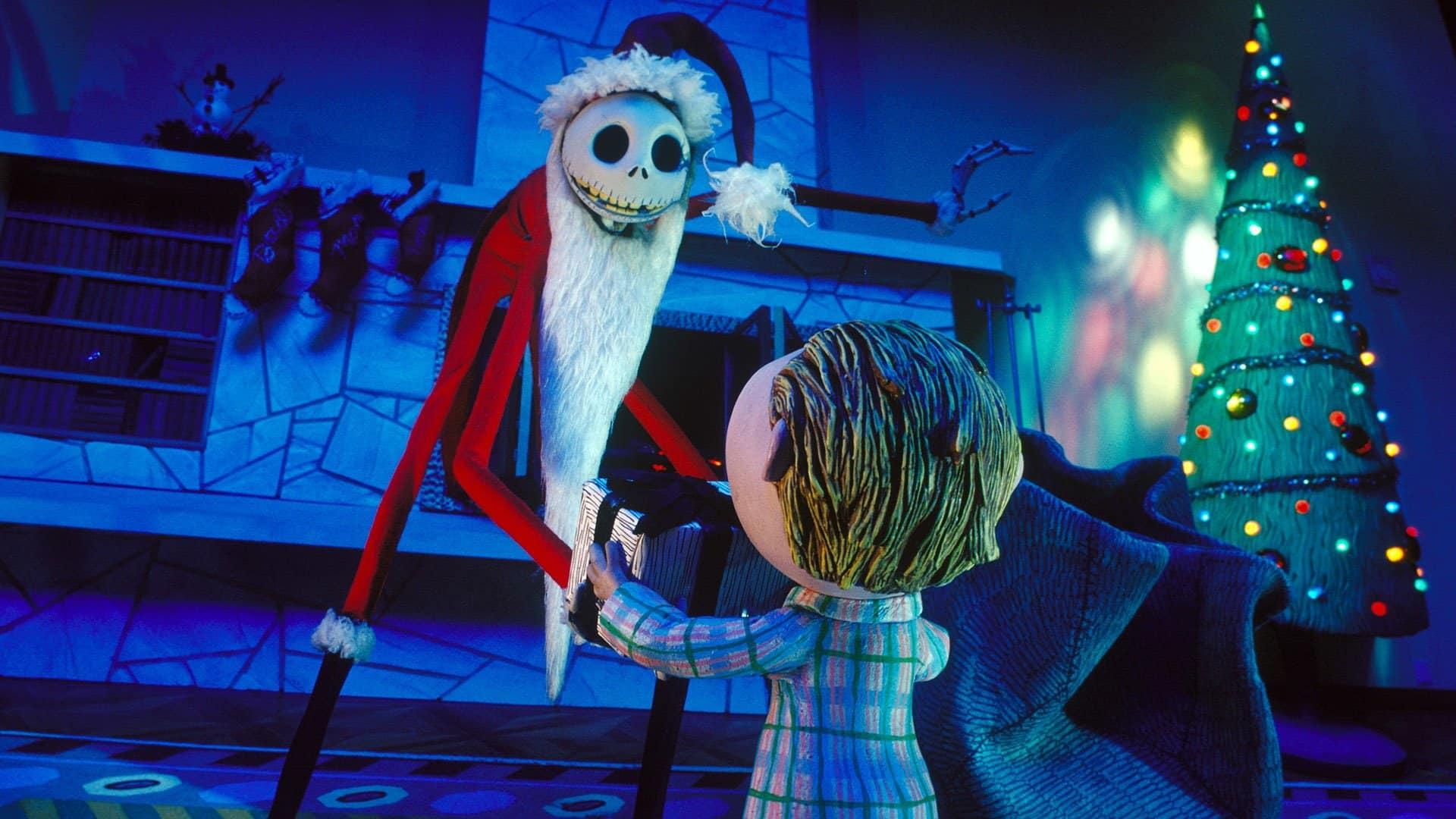 animované filmy Halloween - predvianocna nocna mora