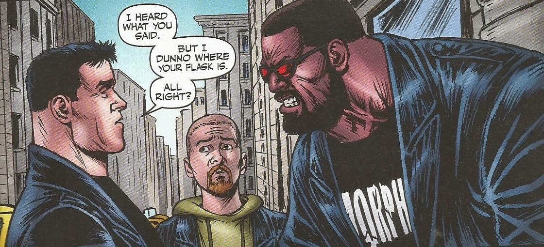 the boys komiks