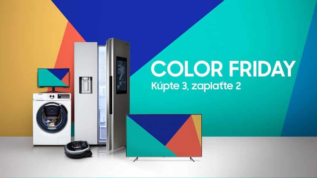 Samsung spúšťa Color Friday
