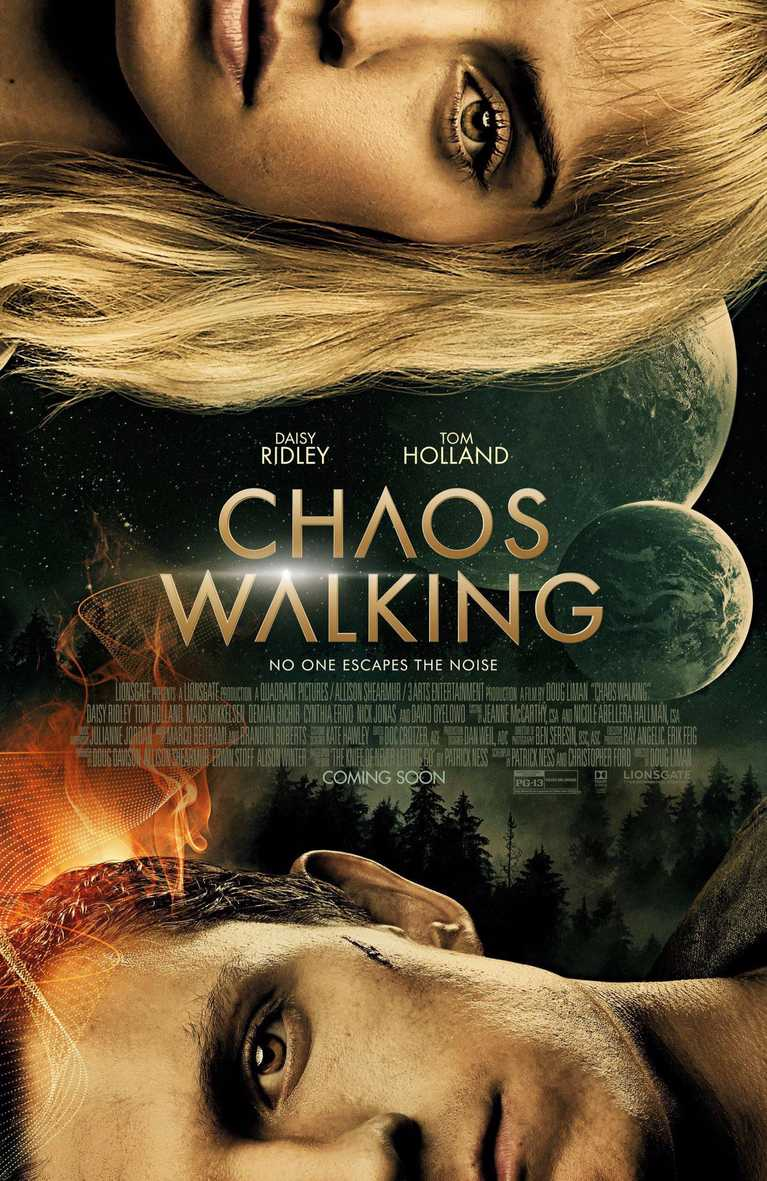 Chaos Walking plagát trailer