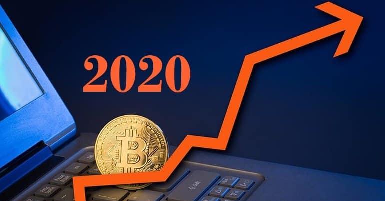 Bitcoin 2020 nárast