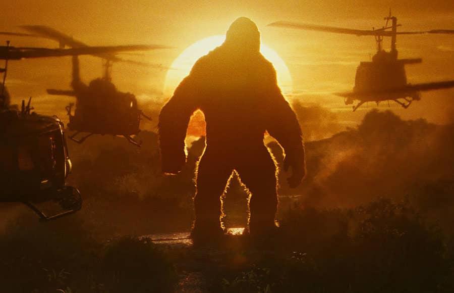 oficiálny záber Godzilla vs Kong