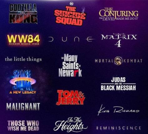 Warner Bros filmy HBO Max