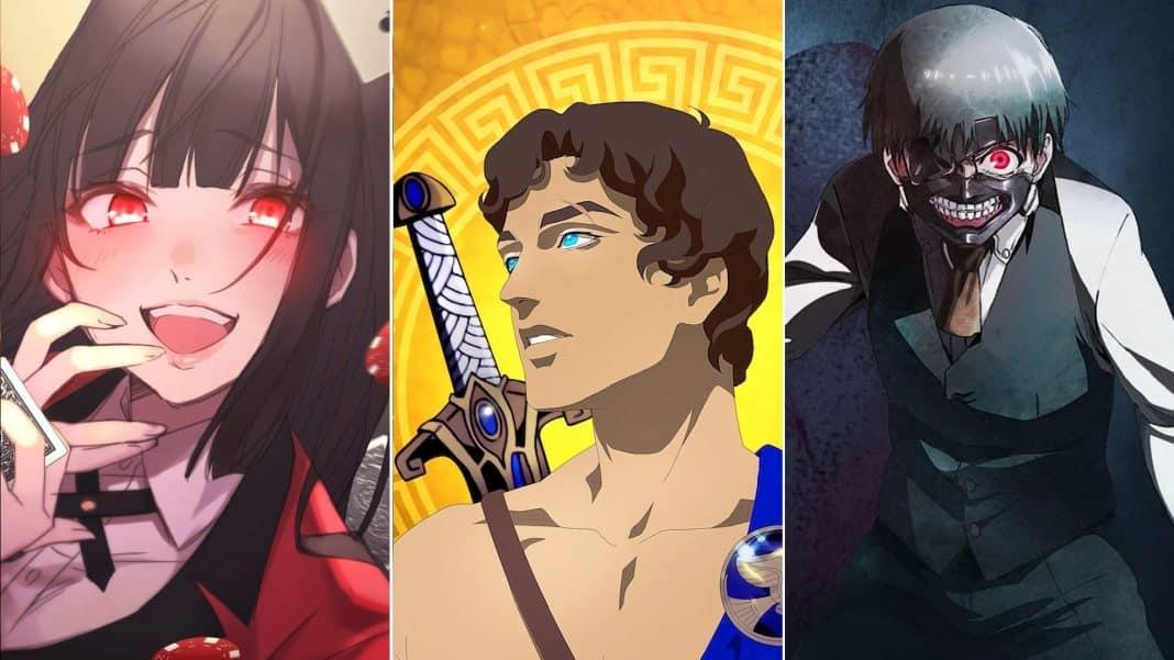 anime seriály Netflix