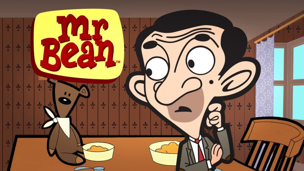 animovaný mr. bean