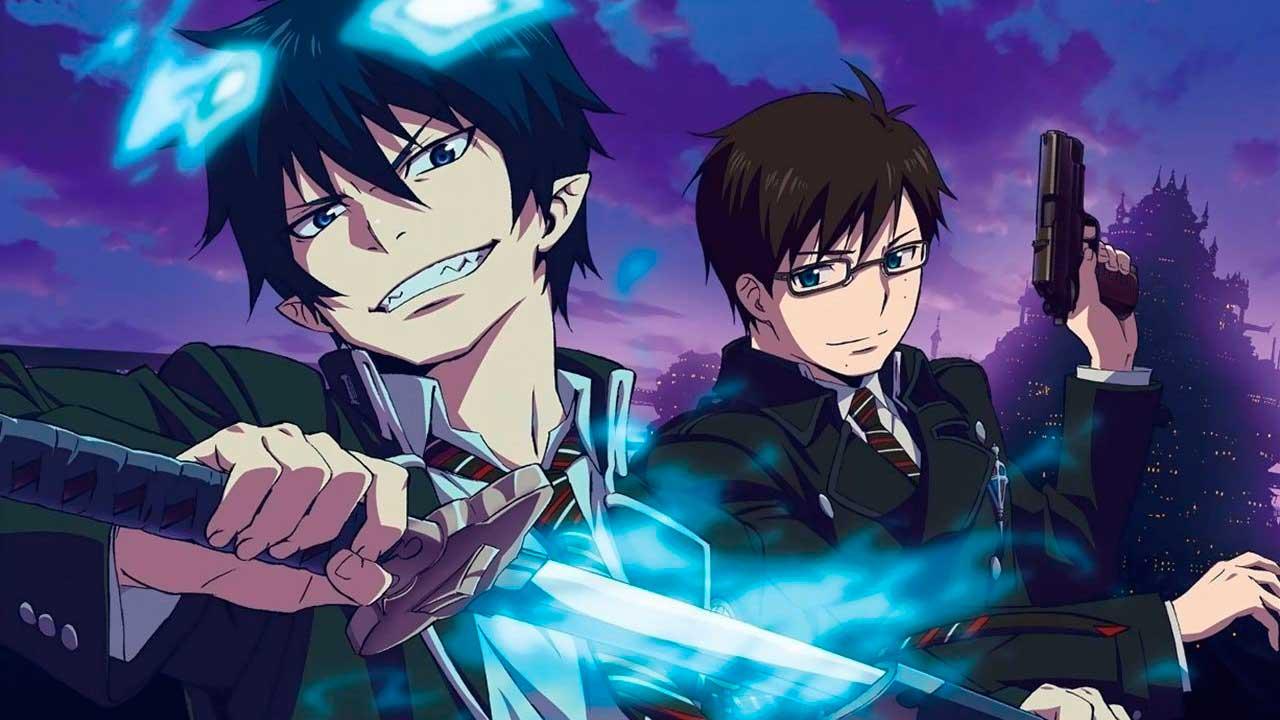 anime seriály Netflix - blue exorcist