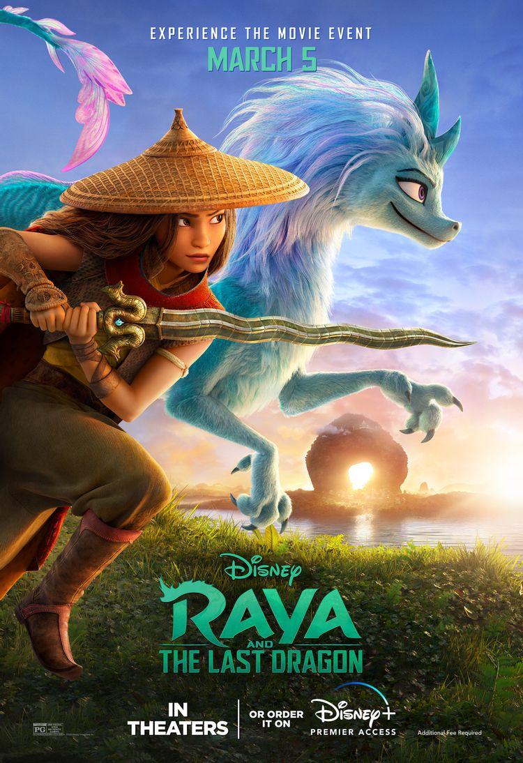 Raya a posledný drak plagát