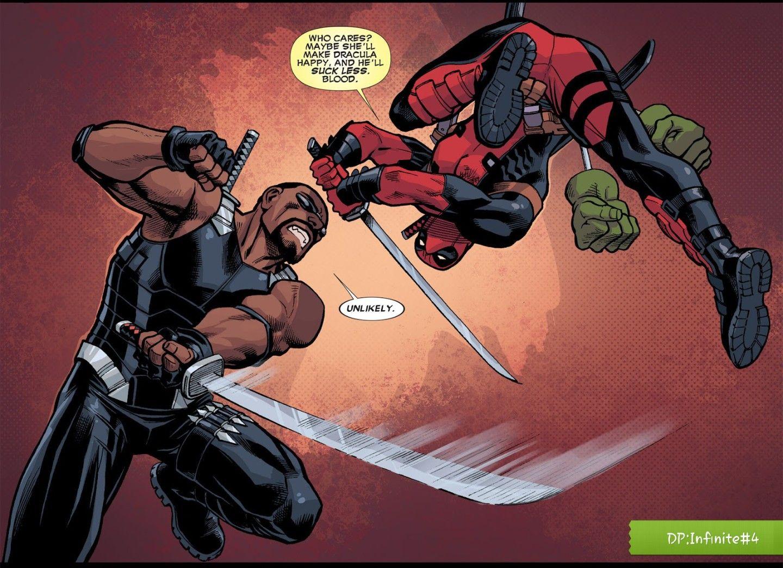 deadpool vs blade
