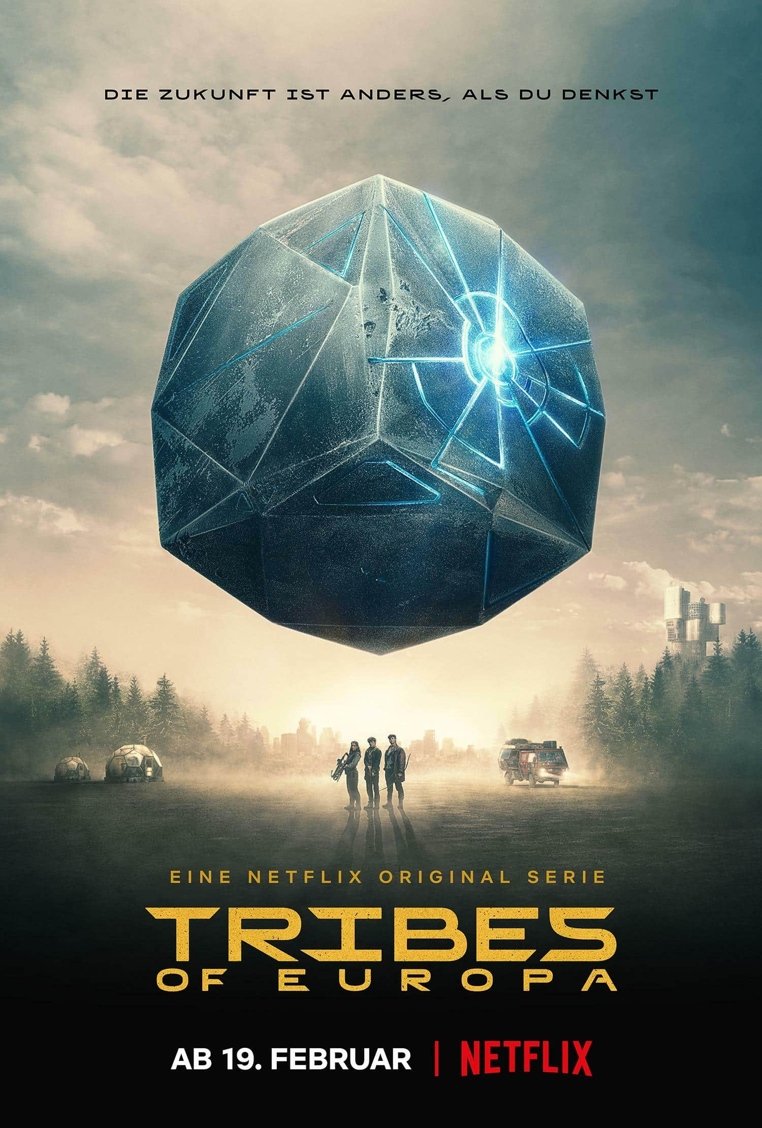Tribes of Europe Netflix plagát