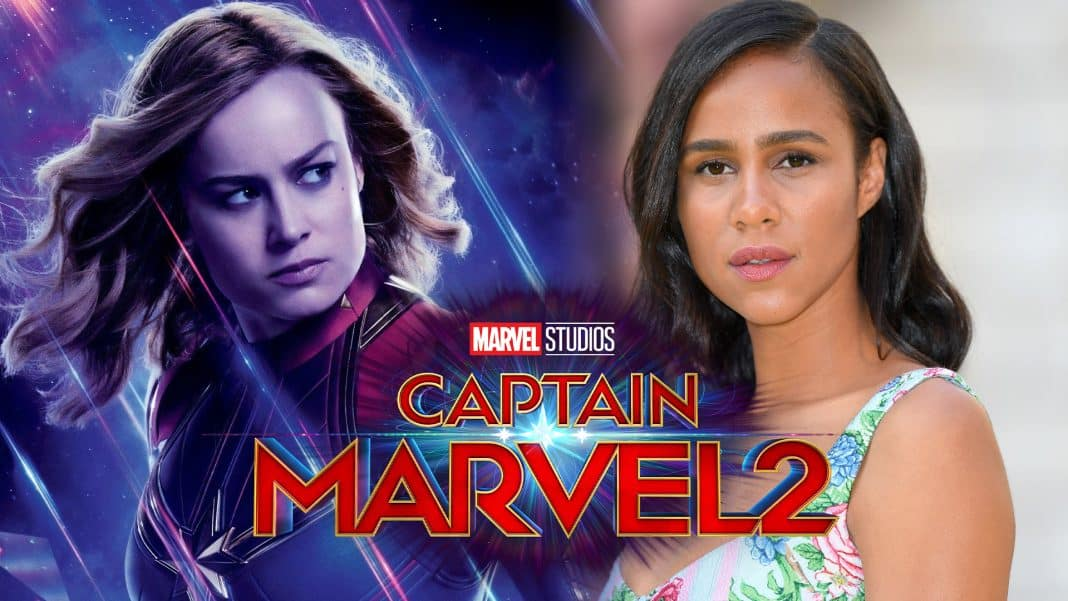 Zawe Ashton Captain Marvel 2