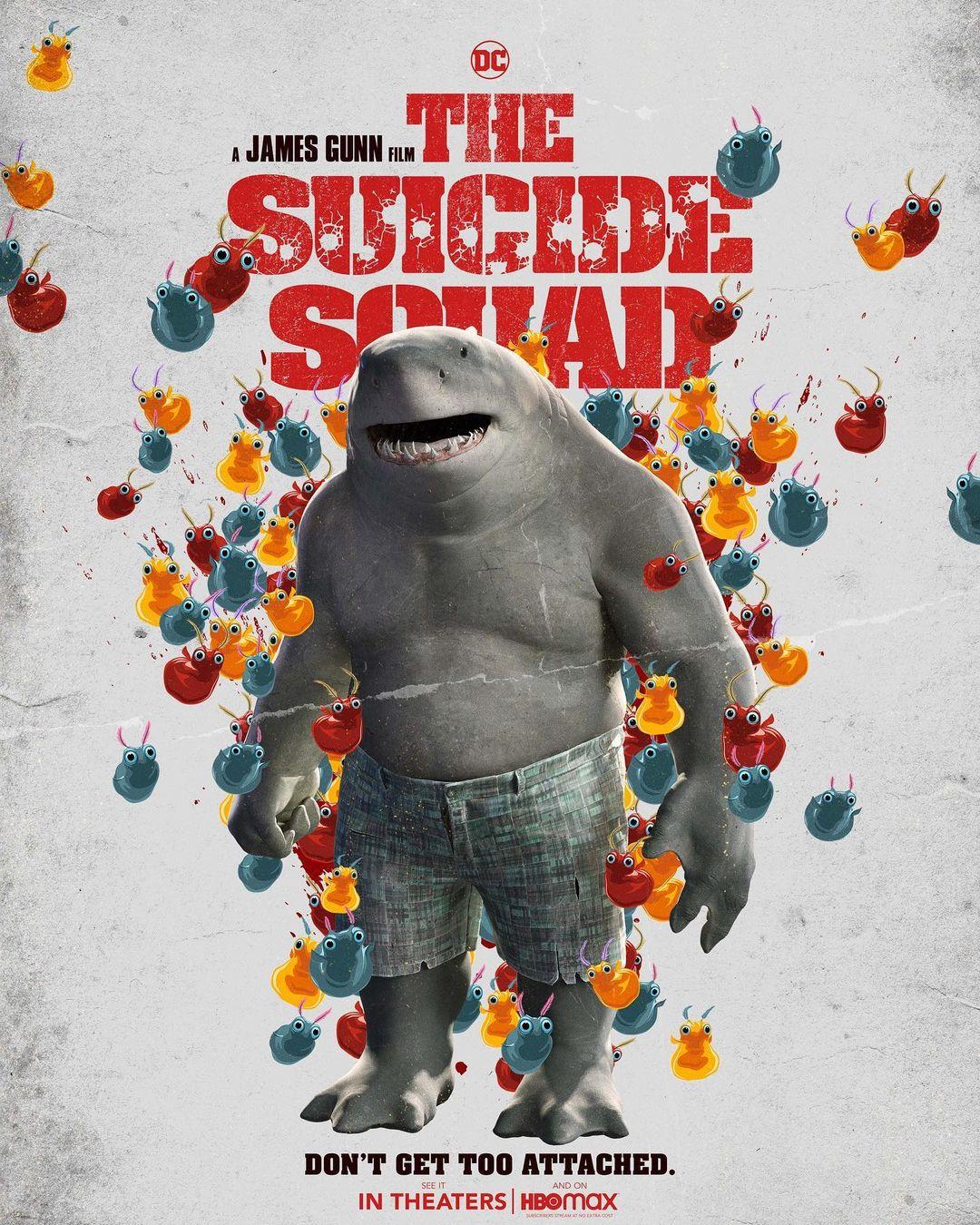 Sylvester Stallone ako King Shark