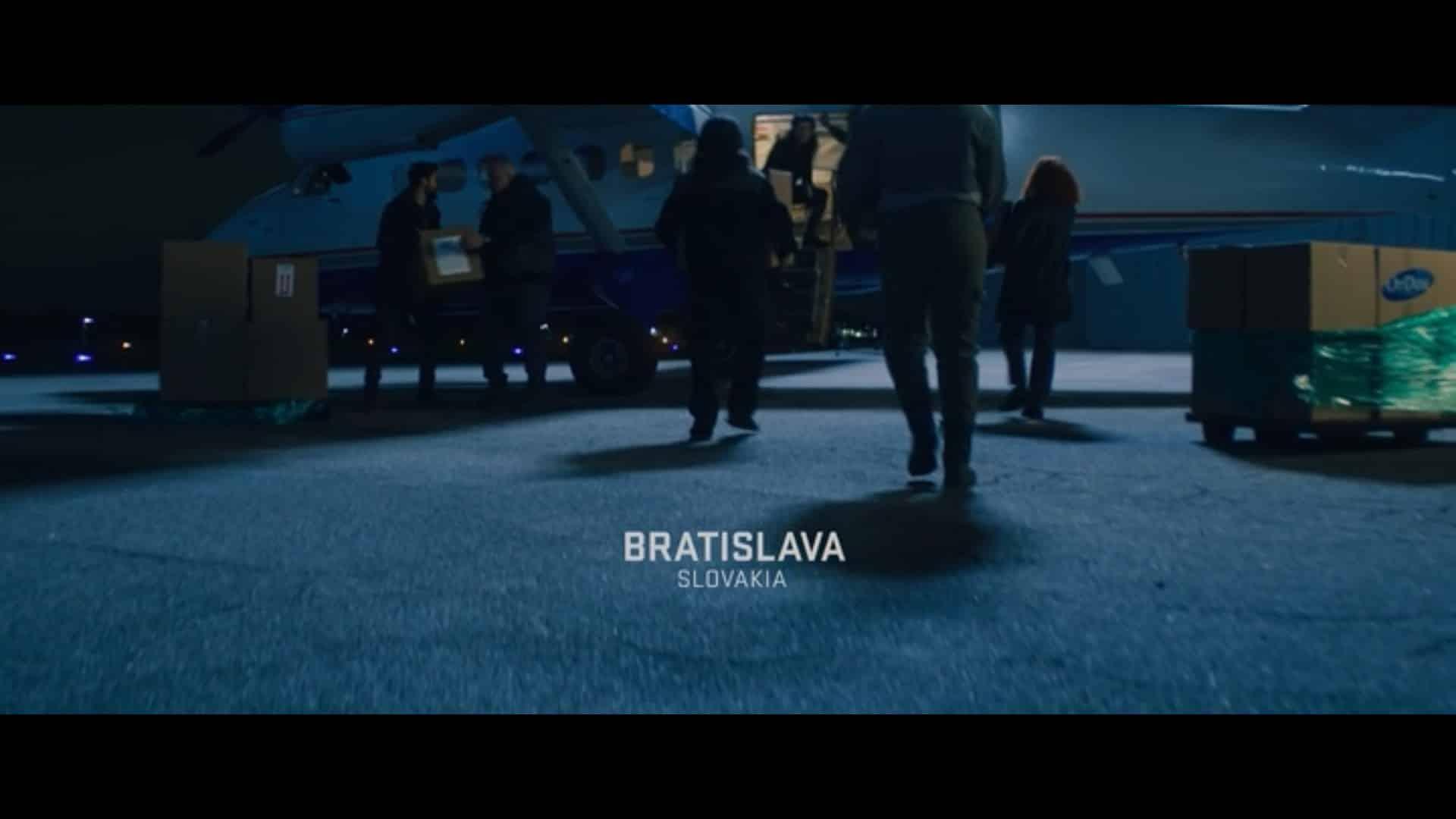 Bratislava The Falcon and the Winter Soldier