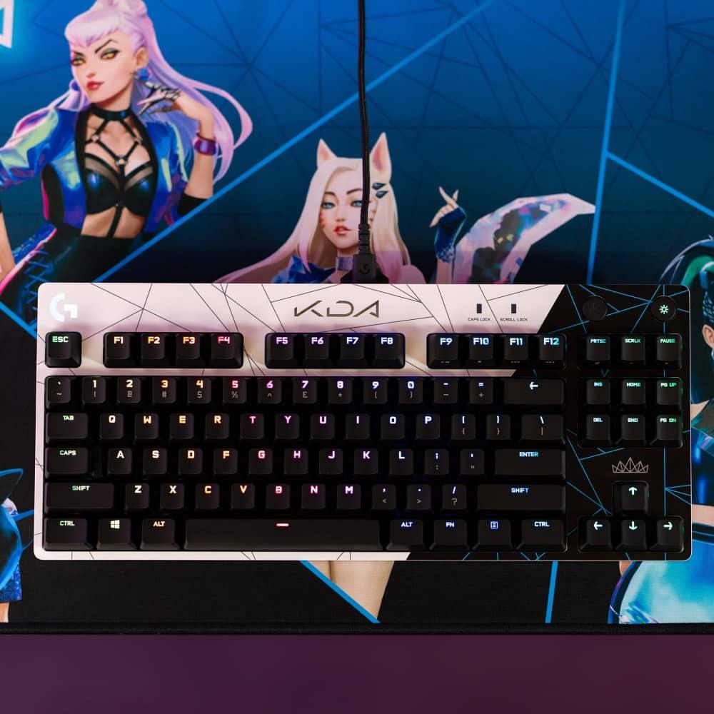 KDA LIFE Pro Keyboard Top Down