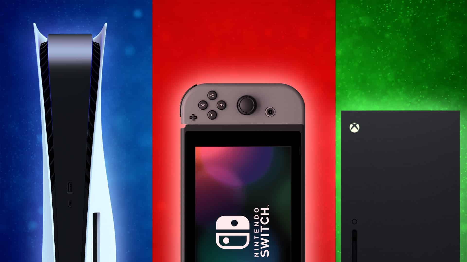 Nintendo Switch PlayStation 5 Xbox Series X