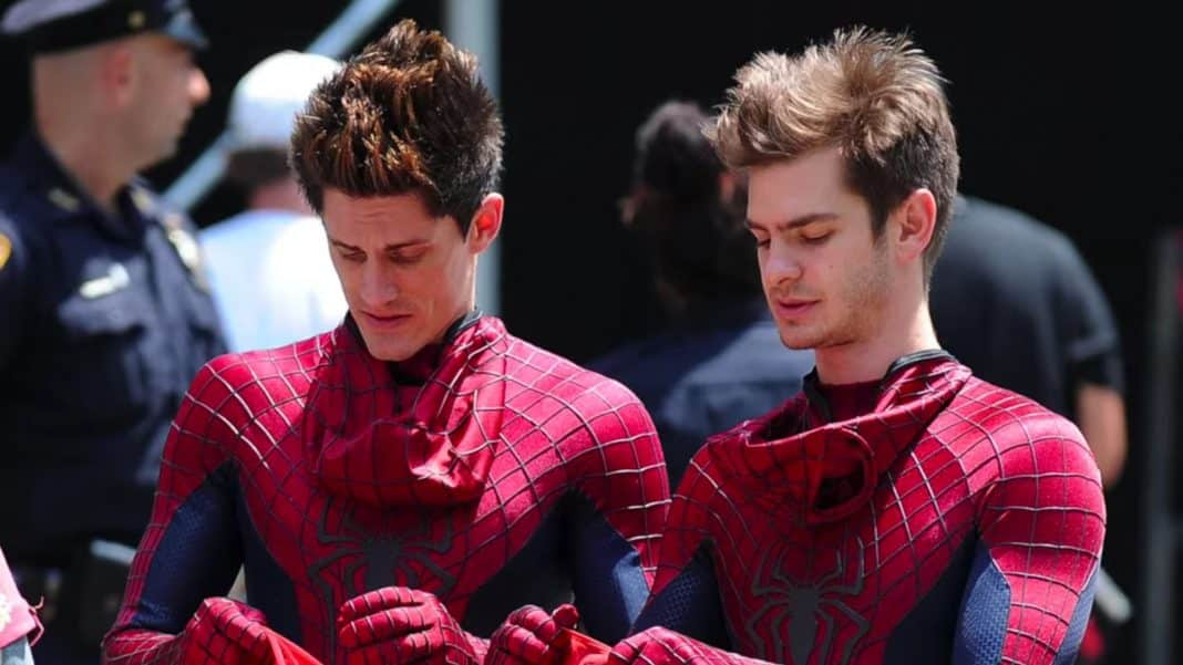 Spider-Man dvojník Garfielda